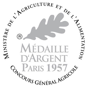 Medaille argent_1957